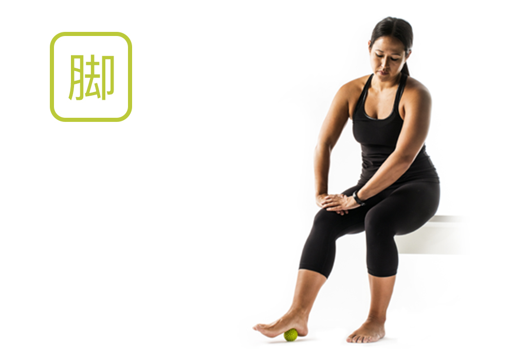 TriggerPoint MobiPoint massage 脚